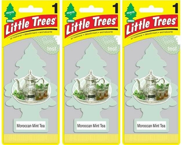 Little Trees Moroccan Mint Tea Air Freshener, 1 ct. (Pack of 3)