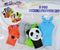 Craft for Kids 5 pcs Finger Puppets Kit, 1-ct