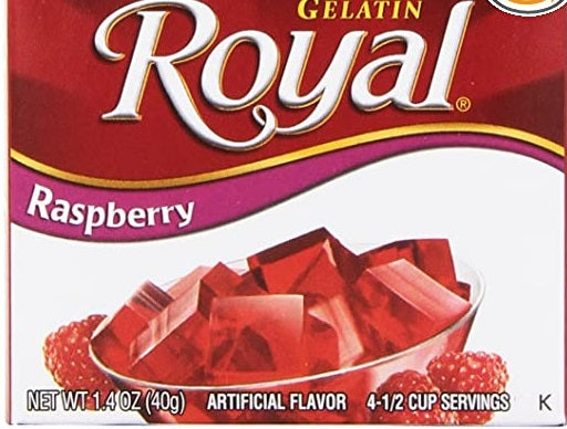 Royal Raspberry Gelatin, 1.41 oz