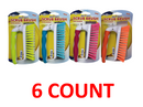 House Care Heavy Duty Scrub Brush with Handle, 6-ct