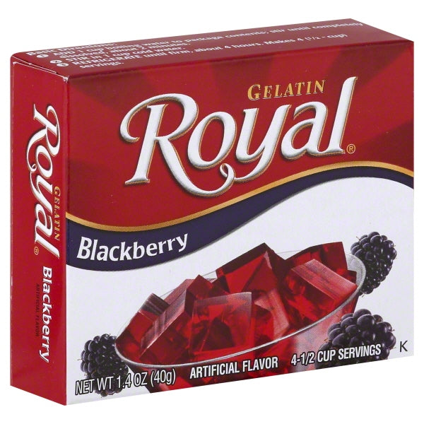 Royal Blackberry Gelatin, 1.41 oz