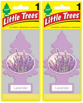 Little Trees Lavender Air Freshener, 1 ct. (Pack of 2)