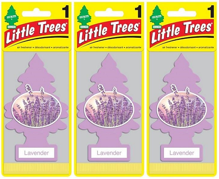 Little Trees Lavender Air Freshener, 1 ct. (Pack of 3)