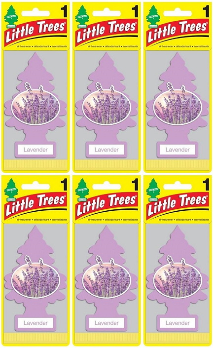 Little Trees Lavender Air Freshener, 1 ct. (Pack of 6)