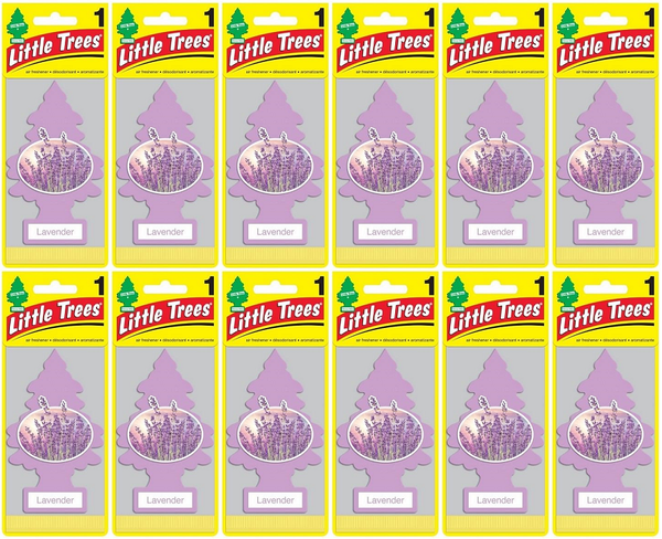 Little Trees Lavender Air Freshener, 1 ct. (Pack of 12)