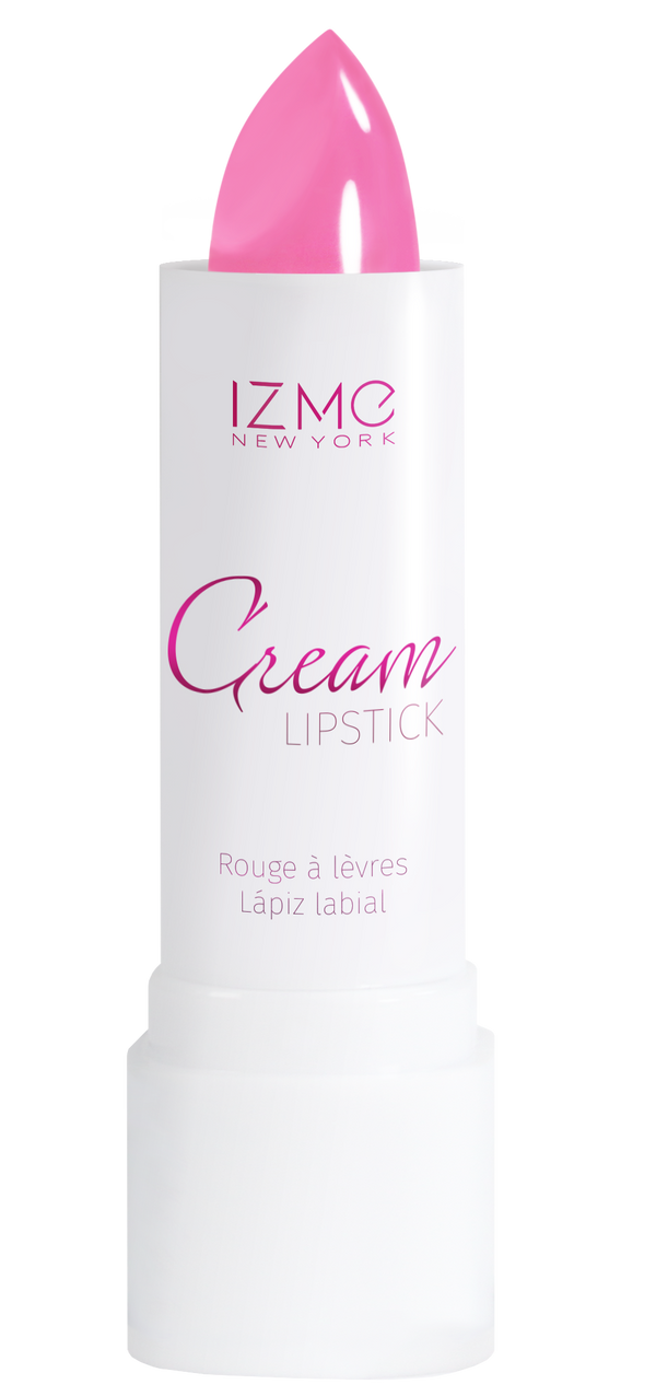 IZME New York Cream Lipstick – Dark Pink – 0.12 fl. Oz / 3.5 gm