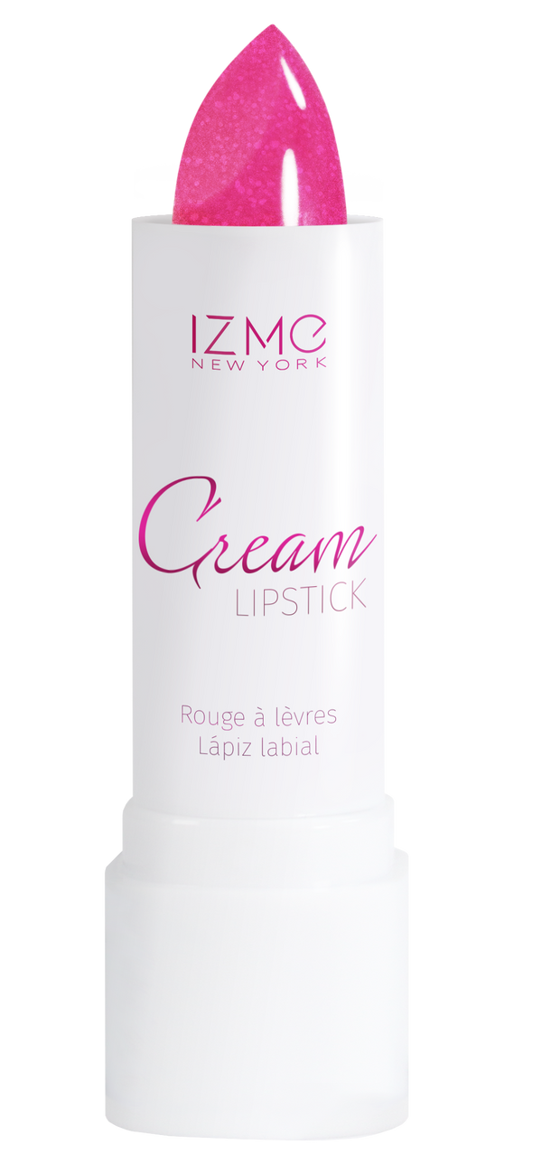 IZME New York Cream Lipstick – Neon Pink – 0.12 fl. Oz / 3.5 gm