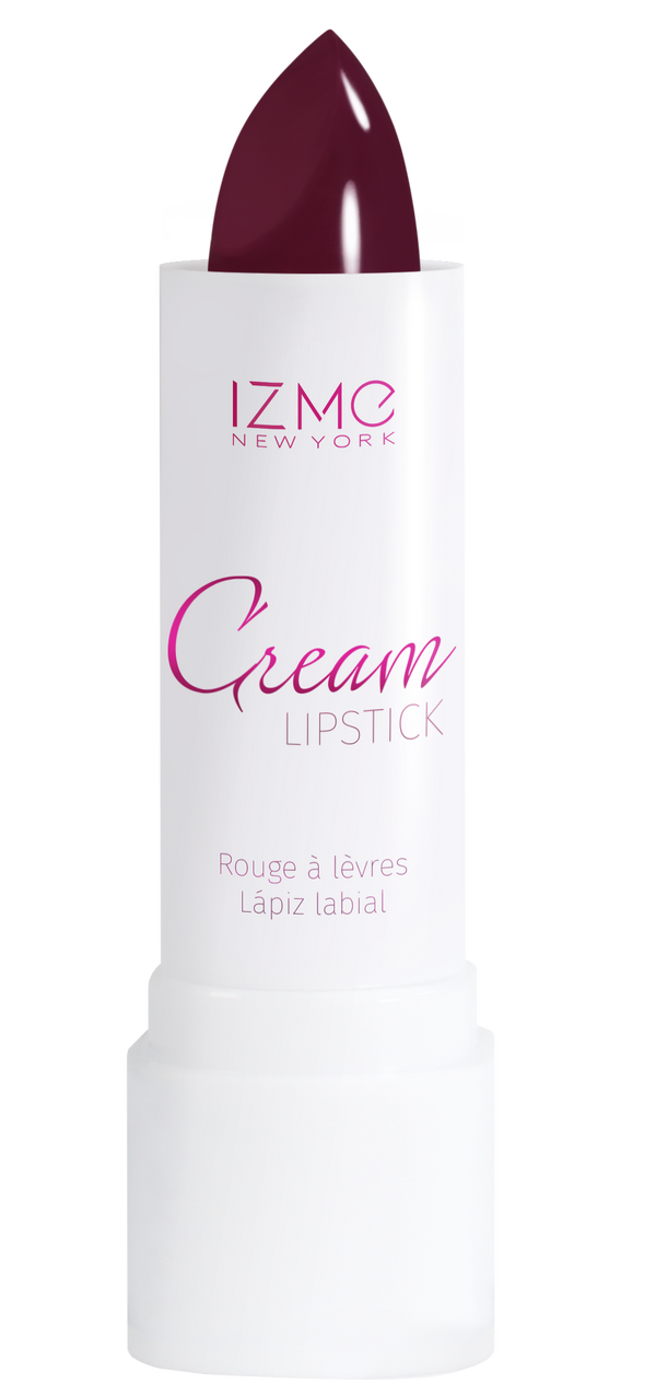 IZME New York Cream Lipstick – Plumful – 0.12 fl. Oz / 3.5 gm