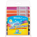 8 Color Broad Line Mini Washable Markers