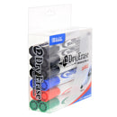 Assorted Color Chisel Tip Dry-Erase Markers (12/Box)