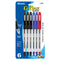 G-Flex Asst. Color Oil-Gel Ink Pen W/ Cushion Grip (6/Pack)