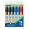 Nova Assorted Color Stick Pen (12/Pack)
