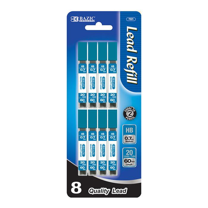 20 Ct. 0.7mm Mechanical Pencil Leads (8/Pack)