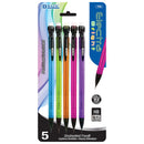 Electra 0.7mm Fashion Color Mechanical Pencil (5/Pack)