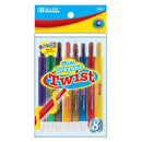 8 Color Mini Propelling Crayons