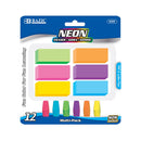 Neon Eraser Sets (12/Pack)
