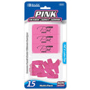 Pink Eraser Sets ( 15/Pack)