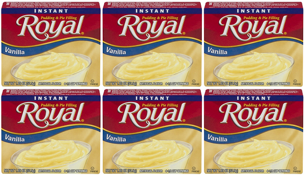 Royal Vanilla, 1.85 oz (Pack of 6)