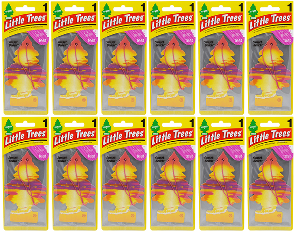 Little Trees Sunset Beach Air Freshener, 1 ct. (Pack of 12)