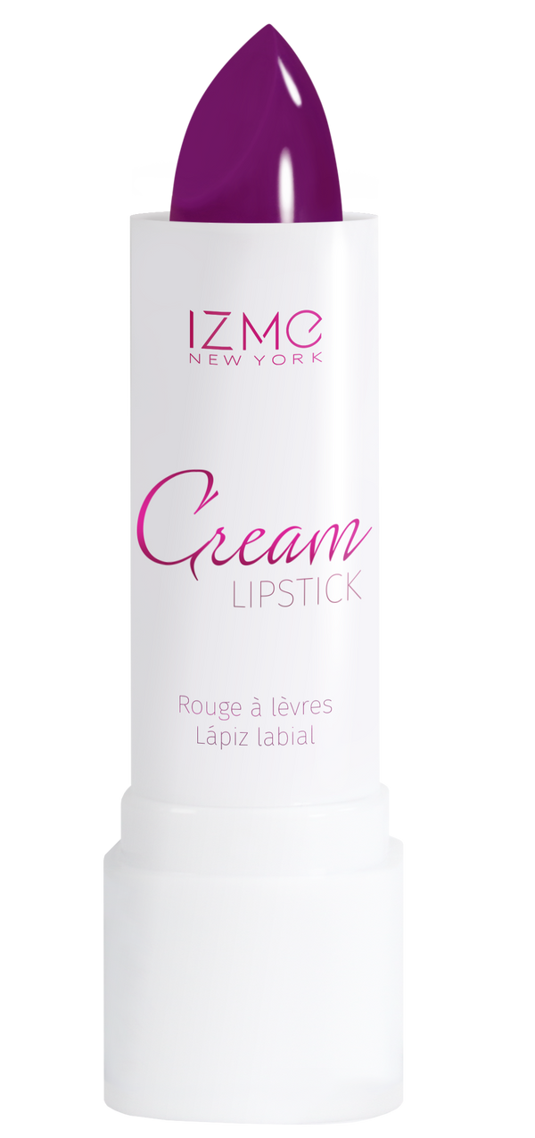 IZME New York Cream Lipstick – Violet – 0.12 fl. Oz / 3.5 gm