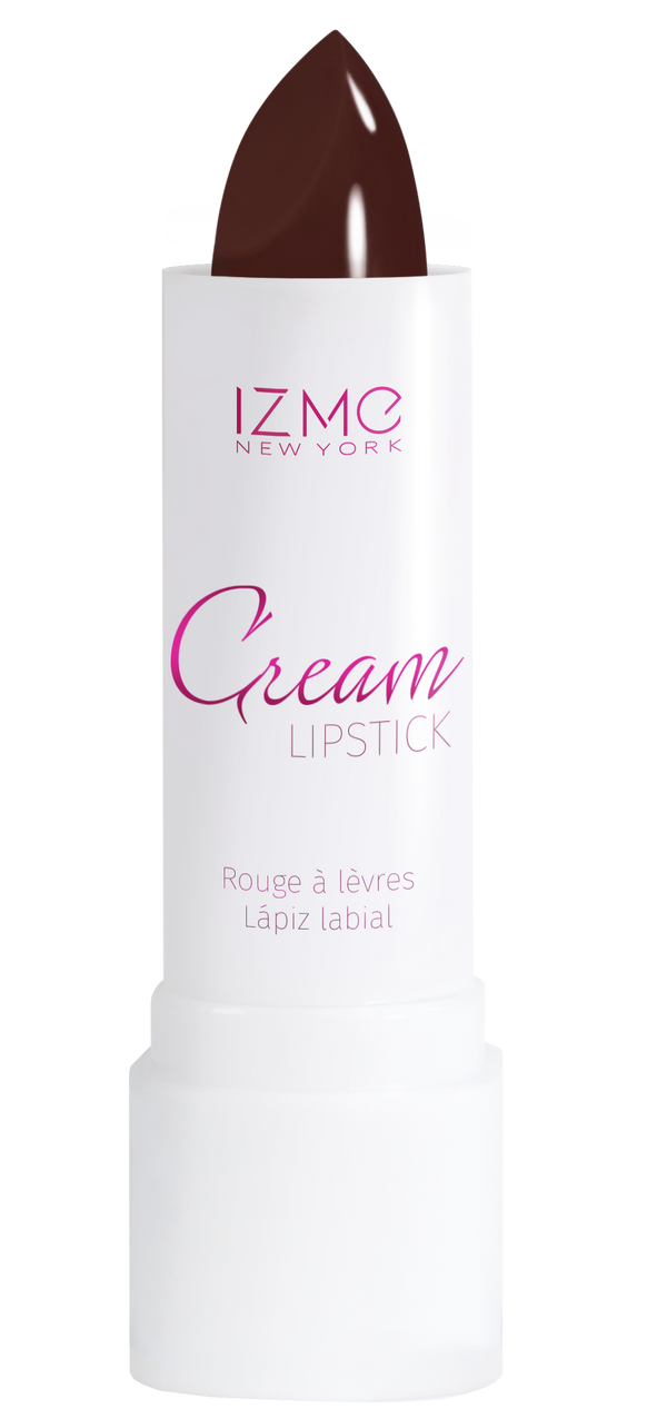 IZME New York Cream Lipstick – Choco Red – 0.12 fl. Oz / 3.5 gm