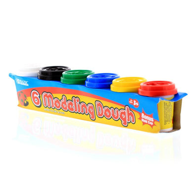 2 Oz. Multi Color Modeling Dough (6/Pack)