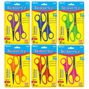 "5"" Blunt & Pointed Tip School Scissors (2/Pack), 1-pack"