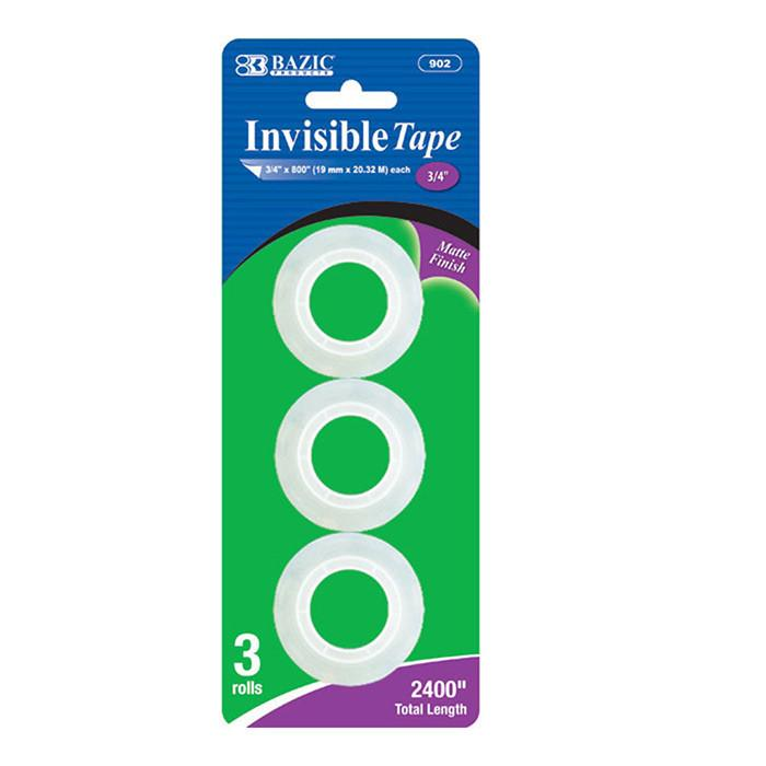 "3/4"" X 800"" Invisible Tape Refill (3/Pack)"