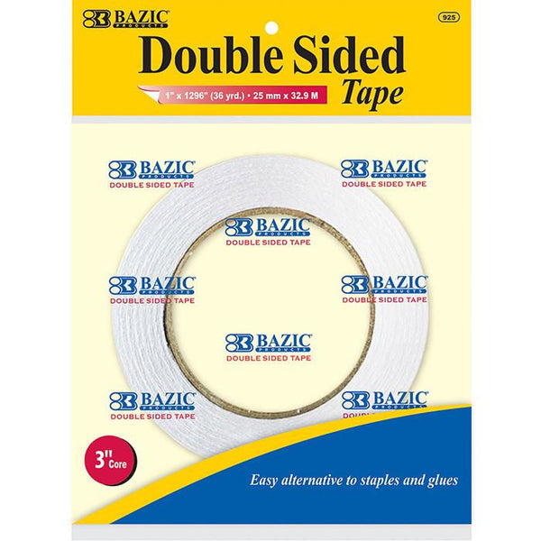 "1"" X 36 Yard (1296"") Double Sided Tape"