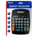 8-Digit Large Desktop Calculator W/ Adjustable Display