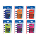 8-Digit Dual Power Pocket Size Calculator, 1-Pack