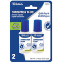 20ml / 0.7 Fl. Oz. Correction Fluid (2/Pack)