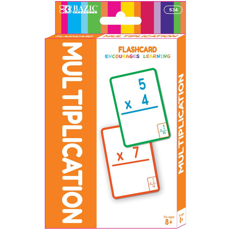 Multiplication Flash Cards (36/Pack)