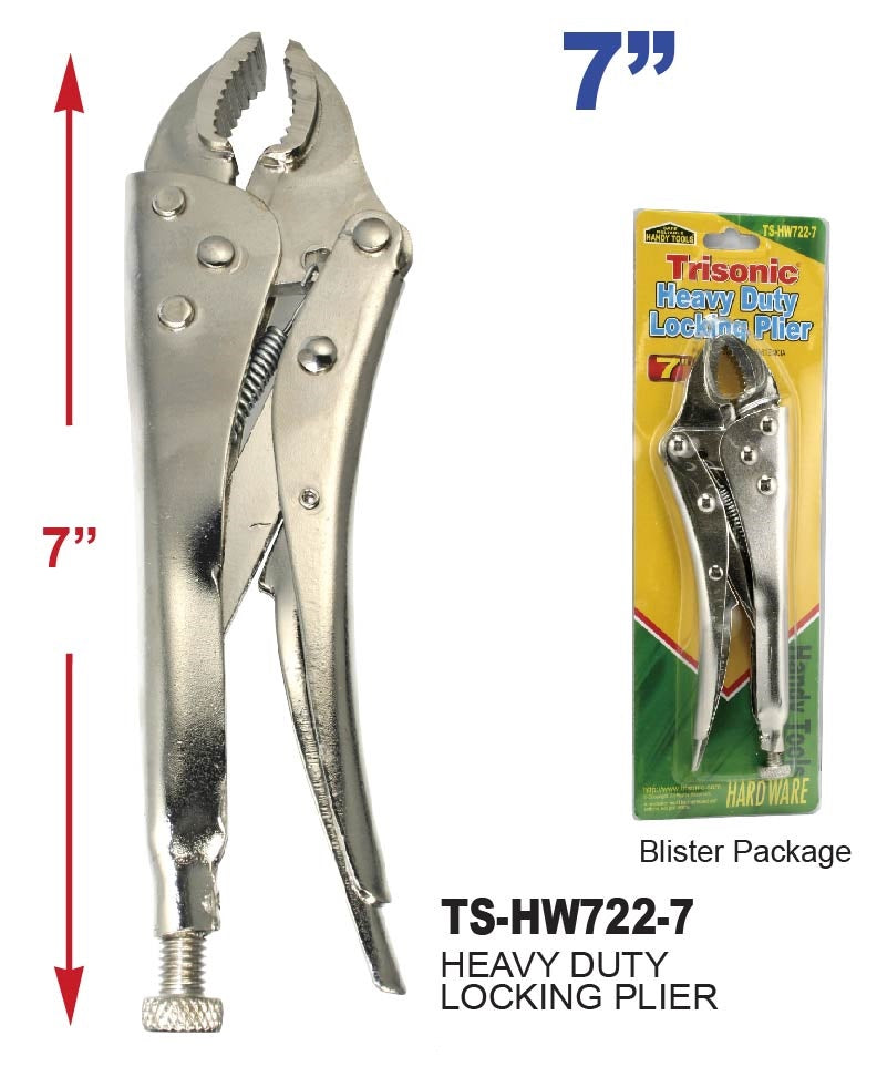 "7"" Heavy Duty Locking Plier"