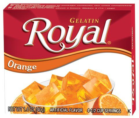 Royal Orange Gelatin, 1.41 oz