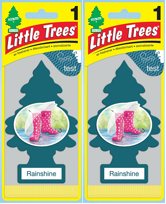 Little Trees Rainshine Air Freshener, 1 ct. (Pack of 2)