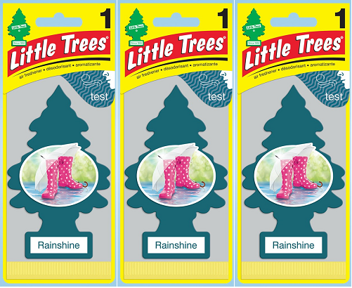 Little Trees Rainshine Air Freshener, 1 ct. (Pack of 3)
