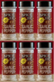 Spice It Family Size Garlic Pepper, 4 oz (Pack of 6)