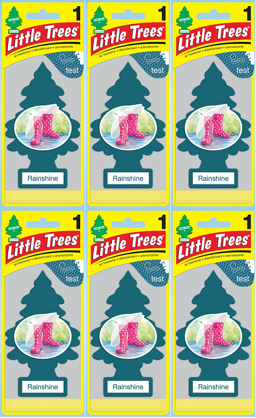 Little Trees Rainshine Air Freshener, 1 ct. (Pack of 6)