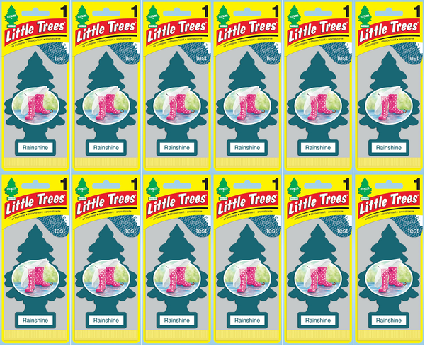 Little Trees Rainshine Air Freshener, 1 ct. (Pack of 12)