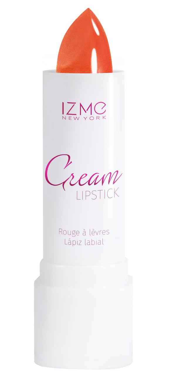 IZME New York Cream Lipstick – Vermilion – 0.12 fl. Oz / 3.5 gm