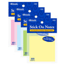 "100 Ct. 3"" X 3"" Stick On Note, 1-pack"