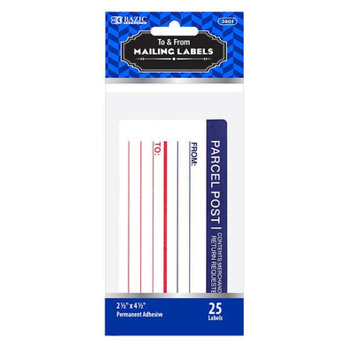 Mailing Label (25/Pack)