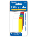"6 Ct. 2"" X 1.5"" Filing Tabs (5/Pack)"