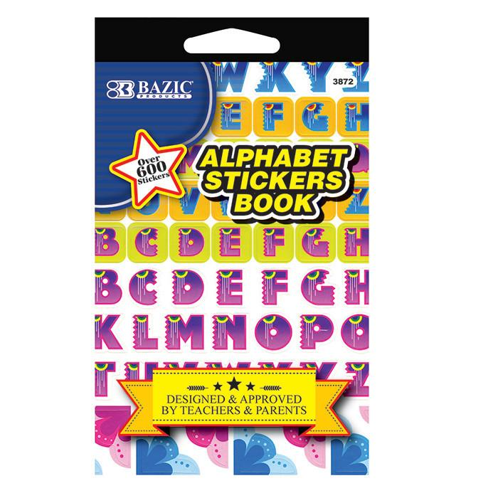 Alphabet Sticker Book