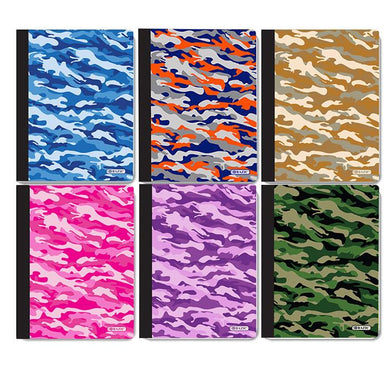 C/R 100 Ct. Camouflage Composition Book, 1-ct.