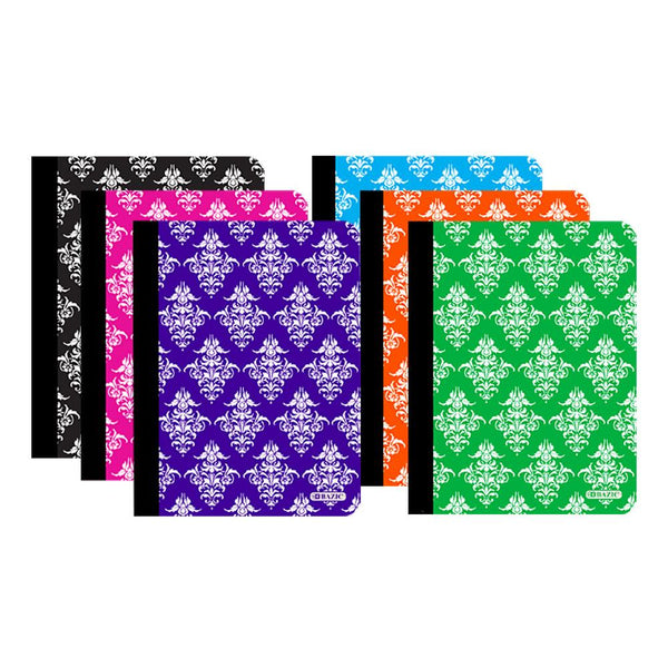 C/R 100 Ct. Damask Composition Book, 1-ct.