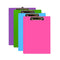 Bright Color PVC Standard Clipboard W/ Low Profile Clip, 1-ct.
