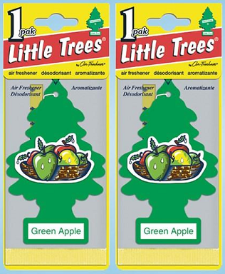 Little Trees Green Apple Air Freshener, 1 ct. (Pack of 2)
