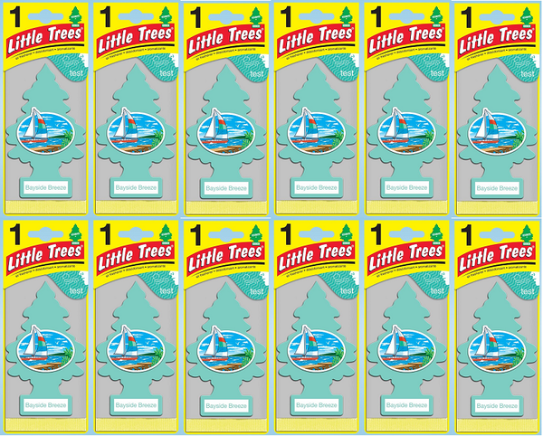 Little Trees Bayside Breeze Air Freshener, 1 ct. (Pack of 12)